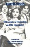 Philosophy of Psychology and the Humanities (Stein, Edith//the Collected Works of Edith Stei...