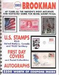 2003 Brookman United States, United Nations & Canada Stamps & Postal Collectibles  Inclusing...