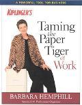 Kiplinger's Taming the Paper Tiger at Work