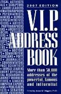 V.i.p. Address Book 2007
