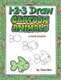 1 2 3 Draw Cartoon Animals A Step-By-Step Guide