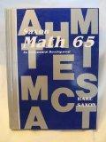 Math 65 1e Student Edition (Saxon Math 6/5)