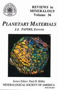 Reviews in Mineralogy Planetary Materials