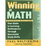 Winning at math: Your guide to learning mathematics through successful study skills