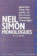 Neil Simon Monologues Speeches from the Works of America's Foremost Playwright