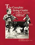 Complete String Guide Standards, Programs, Purchase, and Maintenance