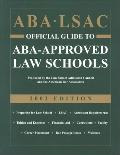 Aba Lsac Official Guide to Aba-Approved Law Schools 2002