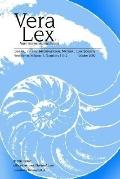Vera Lex Journal of the International Natural Law Society