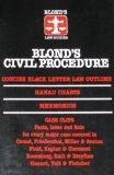 Civil Procedure (BLOND'S LAW GUIDES)