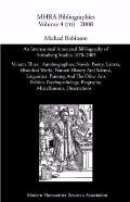 An International Annotated Bibliography of Strindberg Studies 1870-2005: Vol. 3, Autobiograp...