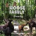 Moose Family Close Up