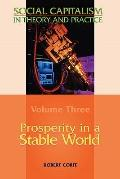 Prosperity in a Stable World--Volume 3 of Social Capitalism in Theory and Practice