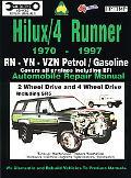 Hilux/4 Runner 1970-1997 Automobile Repair Manual RN-YN-VZN Petrol/Gasoline  Covers All Engi...