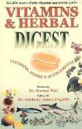 Vitamin & Herbal Digest Vitamins, Herbs & Supplements