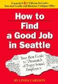 How to Find a Good Job in Seattle