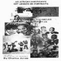 African American's Art Lesson on Portraits : How to Paint a Portrait with the Use of Oil Paint
