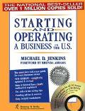 Starting and Operating a Business in the U.S - Michael D. Jenkins - Paperback - BK&CD ROM