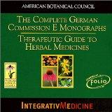 The Complete German Commission E Monographs: Therapeutic Guide to Herbal Medicines (CD-ROM)