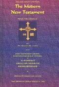 Modern New Testament from the Aramaic With New Testament Origin, Comparative Bible Verses, &...