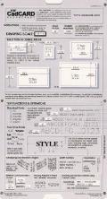 CadCARD SlideChart Ver. 5. 1 : U. S. Version Slide Charts for AutoCAD