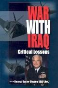 War With Iraq Critical Lessons