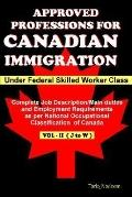 Approved Professions For Canadian Immigration