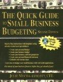 The Quick Guide to Small Business Budgeting 2nd Edition