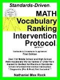 Standards-driven Math Vocabulary Ranking Intervention Protocol (Vrip) Pre-algebra Through Ge...