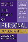 Power Of Personal Accountability Achieve What Matters To You