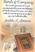 Torah & Company The Weekly Portion of Torah, Acompanied by Generous Helpings of Mishnah and ...