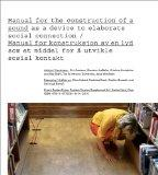 Surface Tension Supplement No. 4: Manual for the Construction of a Sound as a Device to Elab...
