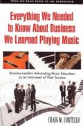 Everything We Needed to Know About Business, We Learned Playing Music