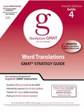 Word Translations GMAT Preparation Guide, 4th Edition