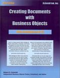 Web Intelligence XI Vol. 3 : Creating Documents with Business Objects