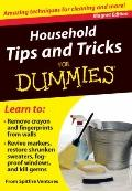 Household Tips and Tricks for Dummies: Amazing Techniques for Cleaning and More! (Fingertip ...