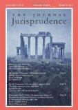 The Journal Jurisprudence, Vol. 9: Legal Histories