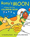 Romy's Moon Coloring Book: A Romy the Cow Coloring Book