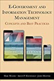 E-Government and Information Technology Management: Concepts and Best Practices