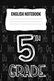 English Notebook: A 6x9 Inch Matte Softcover Paperback Notebook Journal With 120 Blank Lined...