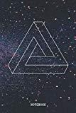 Notebook: I Love Sacred Geometry Symbols Planner / Organizer / Lined Notebook (6