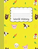 World History: Animal Farm Large Blank Primary Draw & Write Storybook Paper | Horse Sheep Pi...