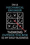 I'm a MECHANICAL ENGINEER: Thinking Outside The Box - Blank Dotted Job Customized Notebook. ...