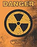 Danger Hexagonal Graph Paper Notebook 120 Pages - 8.5