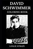 David Schwimmer Coloring Book: Legendary Ross Geller from Friends and Famous Robert Kardashi...