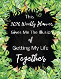 This 2020 Weekly Planner Gives Me the Illusion of Getting My Life Together: Calendar with Ve...