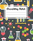 Chemistry Notes: Graph Paper - 5x5 - High School College Study Notes Organic Inorganic Chemi...