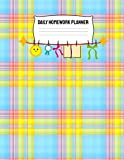 Daily Homework Planner: Monthly School Calendar and Homework Organizer Elementary, Middle an...