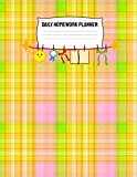 Daily Homework Planner: Monthly School Calendar and Homework Tracking Log Elementary, Middle...