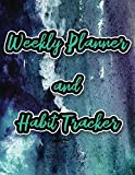 Weekly Planner and Habit Tracker: 2020 Calendar with 12 Months of Habit Tracking with a Purp...