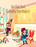 Line Blank Sheet Handwriting Paper Grade K-3: Classroom and Back To School Theme Cover, Book...